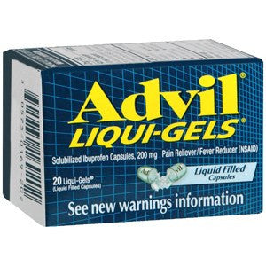 Buy Advil Liqui-Gels Capsules 200 mg online used to treat Pain Relief - Medical Conditions