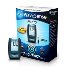 Buy AgaMatrix WaveSense Presto Blood Glucose Meter Kit online used to treat Diabetes Supplies - Medical Conditions