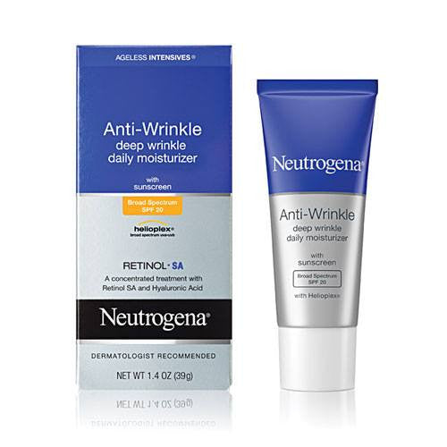 Neutrogena Ageless Anti-Wrinkle Deep Wrinkle Daily Moisturizer with SPF 20