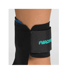 Buy Aircast AirHeel Support, Black online used to treat Braces and Collars - Medical Conditions