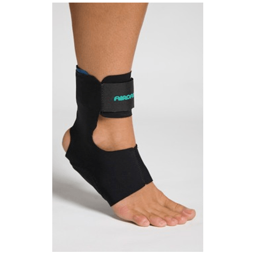 Aircast AirHeel Support, Black - Braces and Collars - Mountainside Medical Equipment