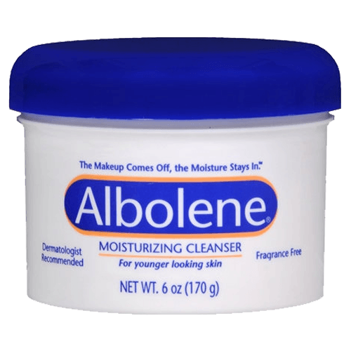 Buy Albolene Makeup Remover Facial Cleanser with Added Moisturizers online used to treat Makeup Removing Cleanser - Medical Conditions