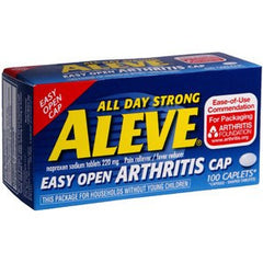 Buy Aleve Arthritis Caplets 220 mg (100 Count) online used to treat Arthritis Pain Relief - Medical Conditions