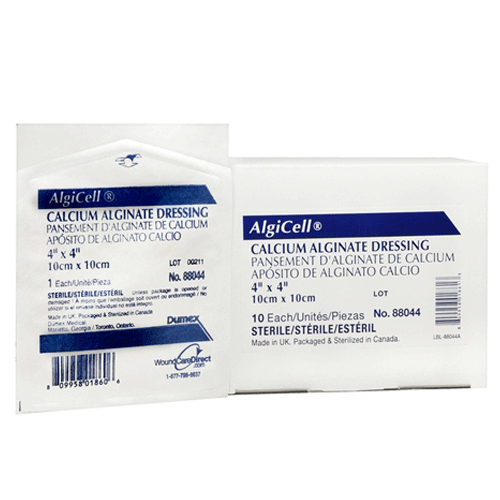 Buy Algicell Calcium Alginate Dressings used for Alginate Wound Care Dressings by Derma Sciences