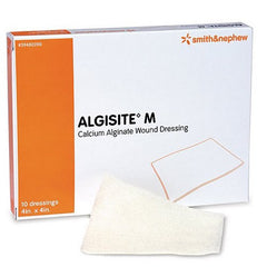 Algisite M Calcium Alginate Dressings, 10/Box for Wound Care by Smith & Nephew | Medical Supplies