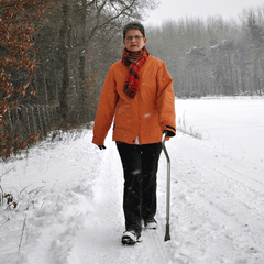 All Terrain Outside Cane with Spike Tip for Canes by Drive Medical | Medical Supplies