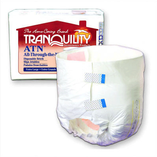 All-Through-The-Night Disposable Adult Diapers