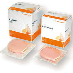 Buy 5-Pack Allevyn Heel Wound Dressings online used to treat Advanced Foam Wound Care Dressing - Medical Conditions
