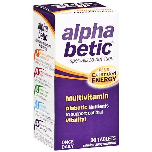 Alpha Betic Multivitamin For Diabetic Health