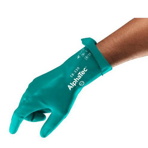 Buy AlphaTec Moisture Management Chemical Resistant Gloves 12/Pack by Ansell from a SDVOSB | Disposable Gloves
