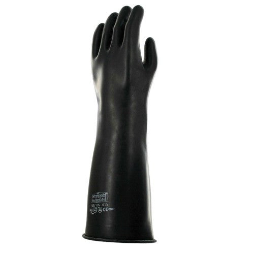 Buy Ansell Marigold Emperor Black Chemical Resistant Gloves online used to treat Disposable Gloves - Medical Conditions
