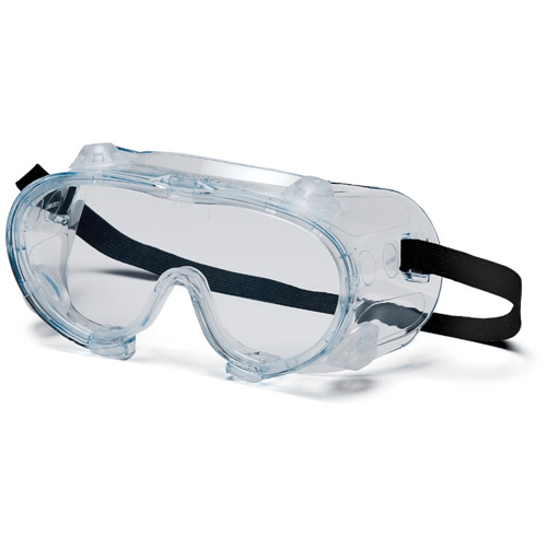 Heavy-Duty Safety Goggles, Wrap-Around Style