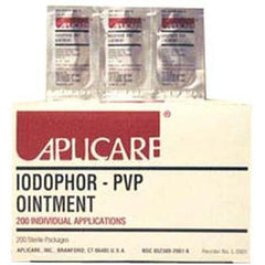 Buy Aplicare PVP Povidone Iodine Ointment Packets 200/box with Coupon Code from Aplicare Sale - Mountainside Medical Equipment