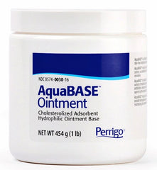 Paddock AquaBASE Ointment, 1 Pound Jar for Dry Skin by Paddock Laboratories | Medical Supplies