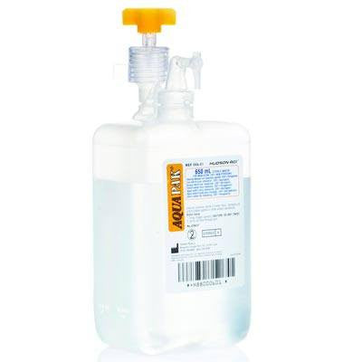 Buy Aquapak Prefilled Humidifier Bottle 650 mL by Hudson RCI online | Mountainside Medical Equipment