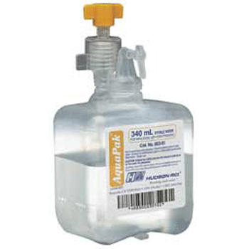 Aquapak Sterile Water for Inhalation Humidifier Bottle 340mL