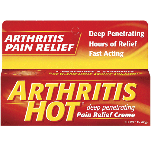 Arthritis Hot Deep Penetrating Pain Relief Creme, 3 oz