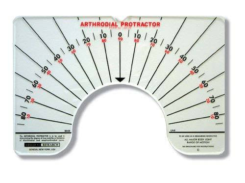 Arthrodial Goniometer - Goniometer - Mountainside Medical Equipment