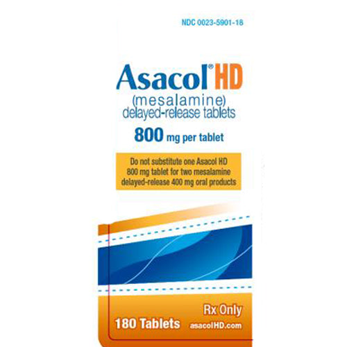 Buy Asacol HD Tablets 800 mg Ulcerative Colitis Treatment online used to treat Ulcerative Colitis Treatment - Medical Conditions