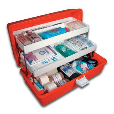 Buy Athletic Trainer Sports First Aid Kit online used to treat First Aid Supplies - Medical Conditions