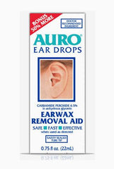 Buy Auro Ear Wax Removal Drops by Insight Pharmaceuticals LLC from a SDVOSB | Ear Supplies