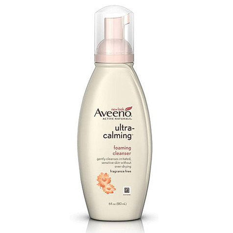 Aveeno Active Naturals Ultra-Calming Foaming Cleanser