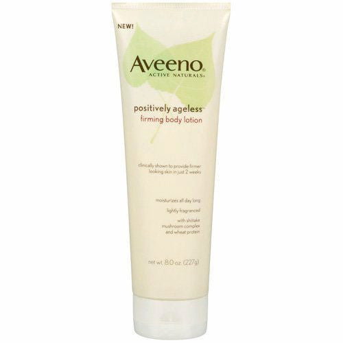 Buy Aveeno Positively Ageless Firming Body Lotion 8 oz online used to treat Beauty Products - Medical Conditions