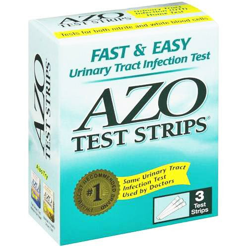 Buy AZO Urinary Tract Infection Home Testing Strips by Rochester Drug from a SDVOSB | Testing Kits