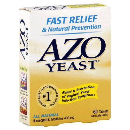 AZO Vaginal Yeast Infection Medicine 60 Tablets