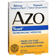 Buy AZO Vaginal Yeast Infection Medicine 60 Tablets by Rochester Drug from a SDVOSB | Yeast Infection