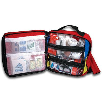 Back Pack First Aid Kit Red - First Aid Supplies - Mountainside Medical Equipment