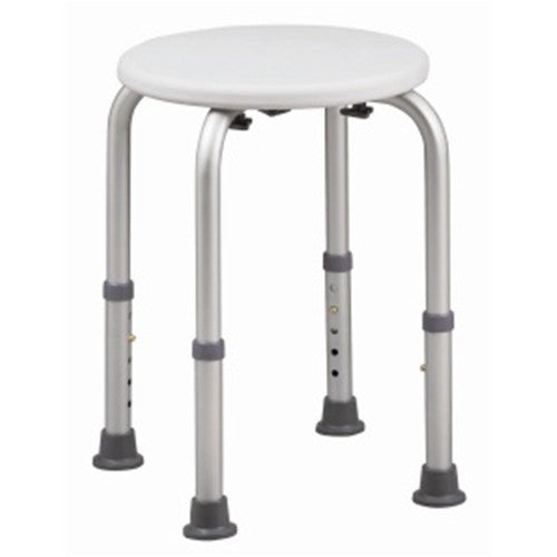 HealthSmart Shower Stool with BactiX - Bath Stools - Mountainside Medical Equipment