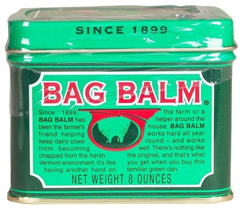 Buy Bag Balm 8 oz Tin Jar used for Skin Care by Dairy Association