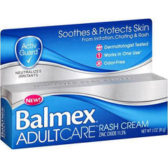 Buy Balmex Adult Care Rash Cream by Chattem online | Mountainside Medical Equipment
