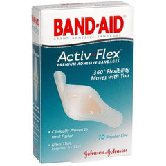 Buy Band-Aid Activ Flex Premium Adhesive Bandages online used to treat Adhesive Bandages - Medical Conditions