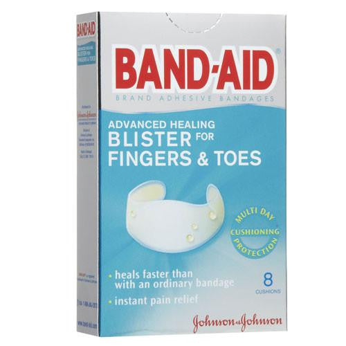 Buy Band-Aid Advanced Healing Blister for Fingers & Toes 8 Pack online used to treat Adhesive Bandages - Medical Conditions