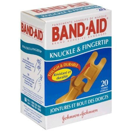 Band-Aid Flexible Fingertip and Knuckle Bandages