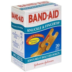Buy Band-Aid Flexible Fingertip and Knuckle Bandages by Johnson & Johnson online | Mountainside Medical Equipment