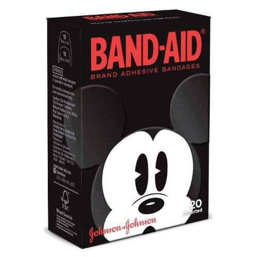 Band-Aid Brand Mickey Mouse Adhesive Bandages