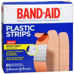 Buy Band-Aid Plastic Comfort-Flex Adhesive Bandages used for Adhesive Bandages by Band-Aid