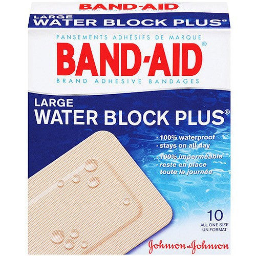 Buy Band-Aid Water Block Plus Adhesive Bandages online used to treat Adhesive Bandages - Medical Conditions