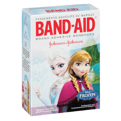 Buy Disney's Frozen Band-Aid Adhesive Bandages by Johnson & Johnson from a SDVOSB | Gauze, Tapes & Bandages
