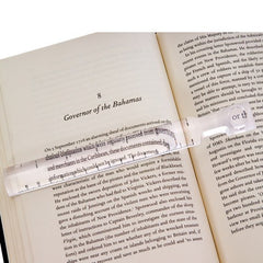 Buy Bar Magnifier Ruler For Reading by Essential | Home Medical Supplies Online