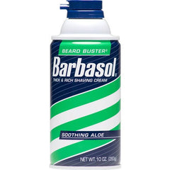 Barbasol Soothing Aloe Shaving Cream 10 oz for Personal Care & Hygiene by Perio | Medical Supplies