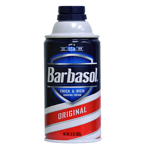 Barbasol Original Shaving Cream 10 oz for Personal Care & Hygiene by Perio | Medical Supplies