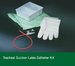 Tracheal Suction Latex Catheter Tray - Suction Catheters - Mountainside Medical Equipment