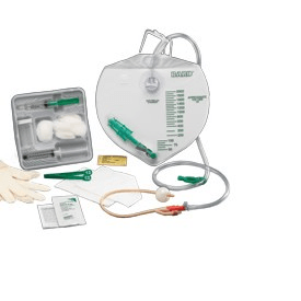 Bardex I.C. Foley Tray with 16 French Catheter - Foley Kits and Trays - Mountainside Medical Equipment