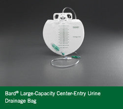 Buy Large Urinary Drainage Bag 4000 cc by Bard Medical online | Mountainside Medical Equipment