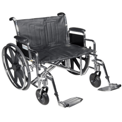 Buy Sentra EC Heavy Duty Dual Axle Bariatric Wheelchair online used to treat Bariatric Wheelchair - Medical Conditions