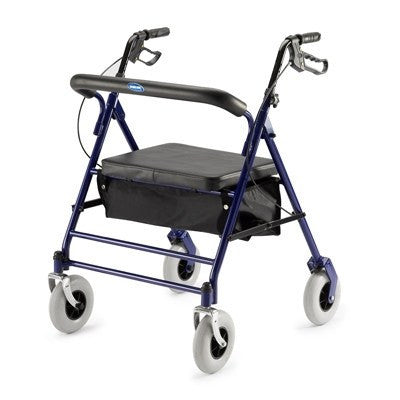 Bariatric Rollator Walker with Padded Seat